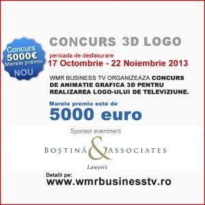 Concurs de animatie grafica 3D cu premiu de 5.000 euro