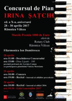 Concurs de pian in Ramnic
