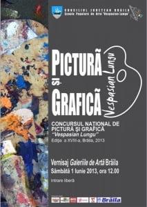 Concursul National de pictura si grafica *Vespasian Lungu*, editia a XVIII-a