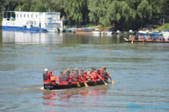 Concursul de canotca, cel mai asteptat moment la Ziua Dunarii