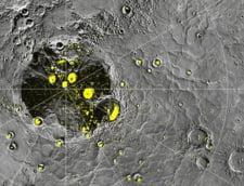 Conditii de viata pe Mercur? S-a gasit gheata la poli