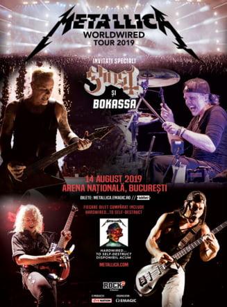 Conditii stricte pentru concertul Metallica de la Bucuresti: Nu ai act de identitate valid la tine, nu intri