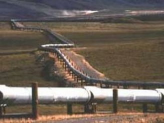 Conducta de petrol fisurata in orasul Urlati