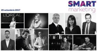 Conferinta SMART Marketing: curajul de a fi diferit si de a inova intr-un mediu de business tot mai competitiv