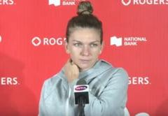 Conferinta Simonei Halep a durat mai putin de un minut: Raspunsul transant dat la o intrebare despre Bianca Andreescu
