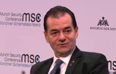 Conferinta de Securitate de la Munchen: Premierul Orban a subliniat legitimitatea deplina a Romaniei privind aderarea la Schengen