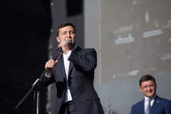 Conferinta de presa a presedintelui ucrainean Zelenski, un record mondial