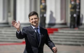 Conferinta de presa de 9 ore a presedintelui ucrainean Volodomir Zelenski, un record mondial