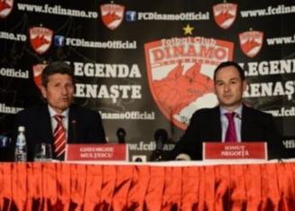 Conflict de proportii la Dinamo: Nimeni nu se mai intelege cu nimeni!