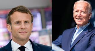 Conflictul diplomatic dintre Franța și SUA. Decizia luată de Franța după o convorbire telefonică dintre Biden și Macron