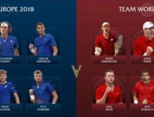 Confruntarea continentelor in tenis: Ce jucatori de top participa la Laver Cup