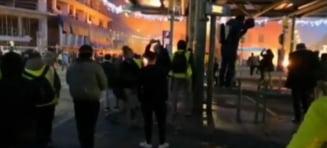 Confruntarile violente de la Toulouse: 57 de persoane au fost ranite dintre care 48 de politisti