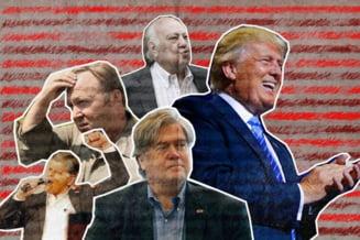 Confruntat cu acuzatii de tradare, Trump sustine ca fostul consilier Steve Bannon si-a pierdut mintile