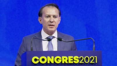 """Congres PNL. Florin Cîţu, către cei care i-au strigat """"Demisia"""": Ştiţi că asta înseamnă să va daţi jos propriul Guvern VIDEO"""