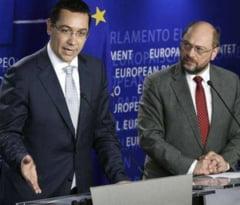Consilier al lui Basescu: Ponta si-a cerut scuze in fata lui Schulz