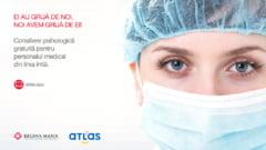 Consiliere psihologica gratuita pentru cadrele medicale care lupta cu coronavirusul