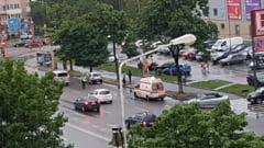 Constanta. Accident rutier pe bulevardul 1 Decembrie in zona Kaufland. Doua masini implicate (galerie foto)