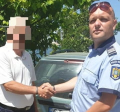 Constanta: un politist aflat in timpul liber a URMARIT un hot de masini in TRAFIC si l-a IMOBILIZAT!