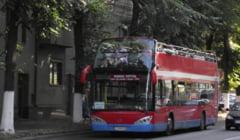 Constantenii, invitati sa mearga gratis la plimbare cu autobuzul etajat