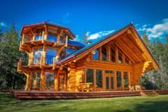 Construieste casa visurilor tale din busteni (lemn rotund)