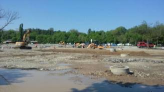 Construirea parcarii din Parcul Tineretului a ramas si fara avizul de mediu