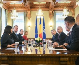 Consultari fara concluzii la Cotroceni: Tudorel Toader a anuntat revocarea procurorului general, Klaus Iohannis nu a mai iesit la declaratii (Video)