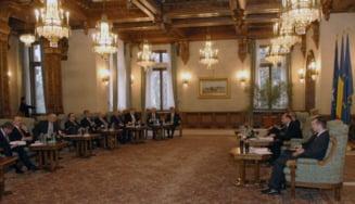 Consultari la Cotroceni pe tema revizuirii Constitutiei