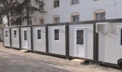 Containere noi pentru vaccinul anti-COVID si la Spitalul Municipal Moreni