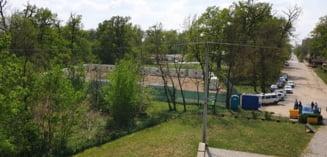 Containerele de la Padurea Verde nu vor fi mutate, dupa epidemia de coronavirus. Planul Primariei pentru 'tabara de carantina' de la Timisoara. Foto
