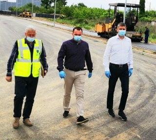 Continua lucrarile de amenajare din zona parcului UM Gara