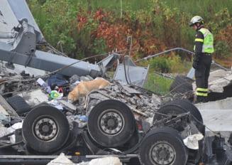 Continua sa creasca numarul mortilor dupa prabusirea autostrazii din Italia