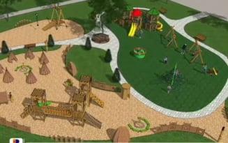 Contract semnat pentru amenajarea unui parc la marginea orasului Buzau