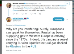 Contre pe Twitter intre diplomatii rusi si americani: De ce va bagati? Europenii pot sa vorbeasca si singuri