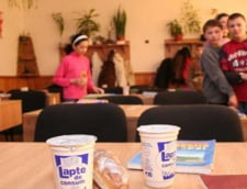 Controale OPC in scoli: Cornuri atinse de rozatoare, produse lactate alterate