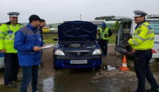 Controale ale inspectorilor RAR in trafic! Puteti redobandi talonul retinut in trafic in urma reinspectarii tehnice!