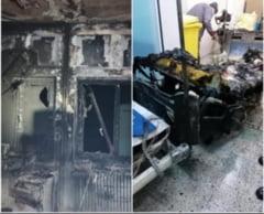 Control mixt la Spitalul Judetean Piatra Neamt unde sectia ATI a ars din temelii. Cine a solicitat verificarile
