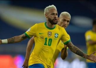 Copa America: Brazilia a spulberat Peru, iar Neymar pune in pericol recordul lui Pele