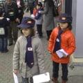 Copiii au devenit postasi pentru o zi