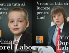 Copiii candidatilor, unelte in campania electorala