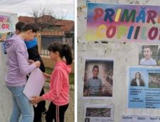 Copiii din Ciugud au votat proiectele ce vor fi realizate prin programul de bugetare participativa: locuri de joaca si mese de tenis si sah pentru scoala