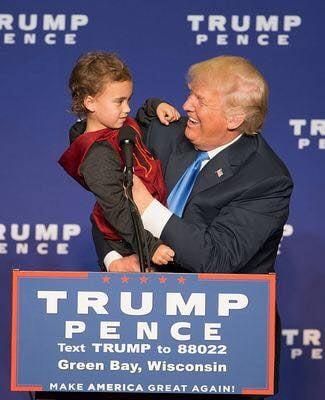 Copiii ii scriu lui Donald Trump: Te rog, fii un presedinte bun! Anunta-ma daca te pot ajuta
