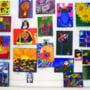 Copiii pasionati de desen Si-au expus lucrarile la Muzeul de Istorie