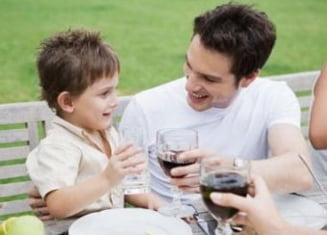 Copiii sub 15 ani nu ar trebui sa bea alcool