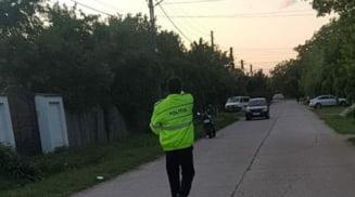 Copil de cinci ani, spulberat de un motociclist in timp ce traversa strada