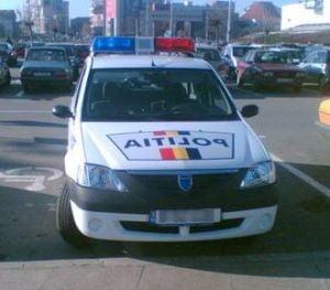 Copil lovit de o masina de politie, in Oradea