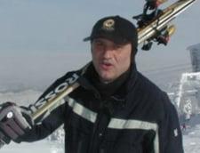 Copos, accident la schi
