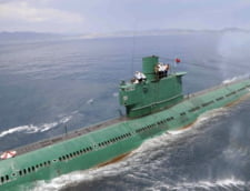 Corectat Coreea de Nord a lansat un submarin dotat cu rachete balistice?