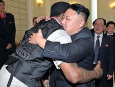 Coreea de Nord: Kim Jong Un, in vacanta alaturi de Dennis Rodman