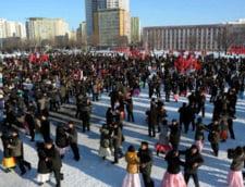 Coreea de Nord: Sarbatoare grandioasa la un an de la investirea liderului Kim Jong Un