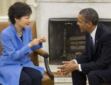 """Coreea de Nord, despre presedintele sud-coreean si Obama: """"o prostituata vicleana"""" si un """"peste puternic"""""""